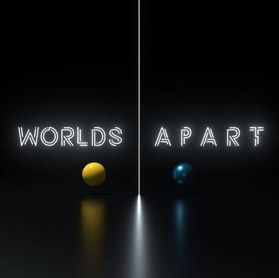 Series Graphic - Worlds Apart